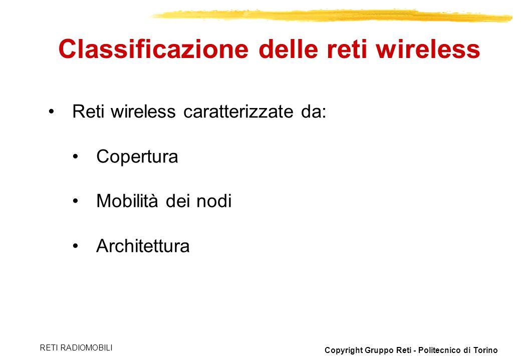Classificazione delle reti wireless