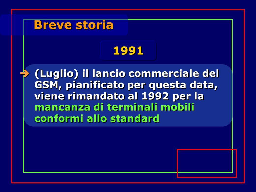 Breve storia 1991.