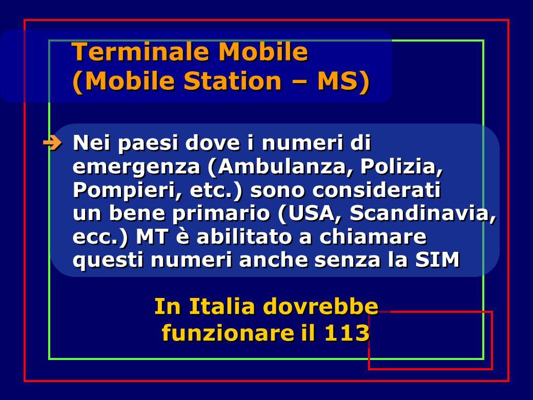 In Italia dovrebbe funzionare il 113
