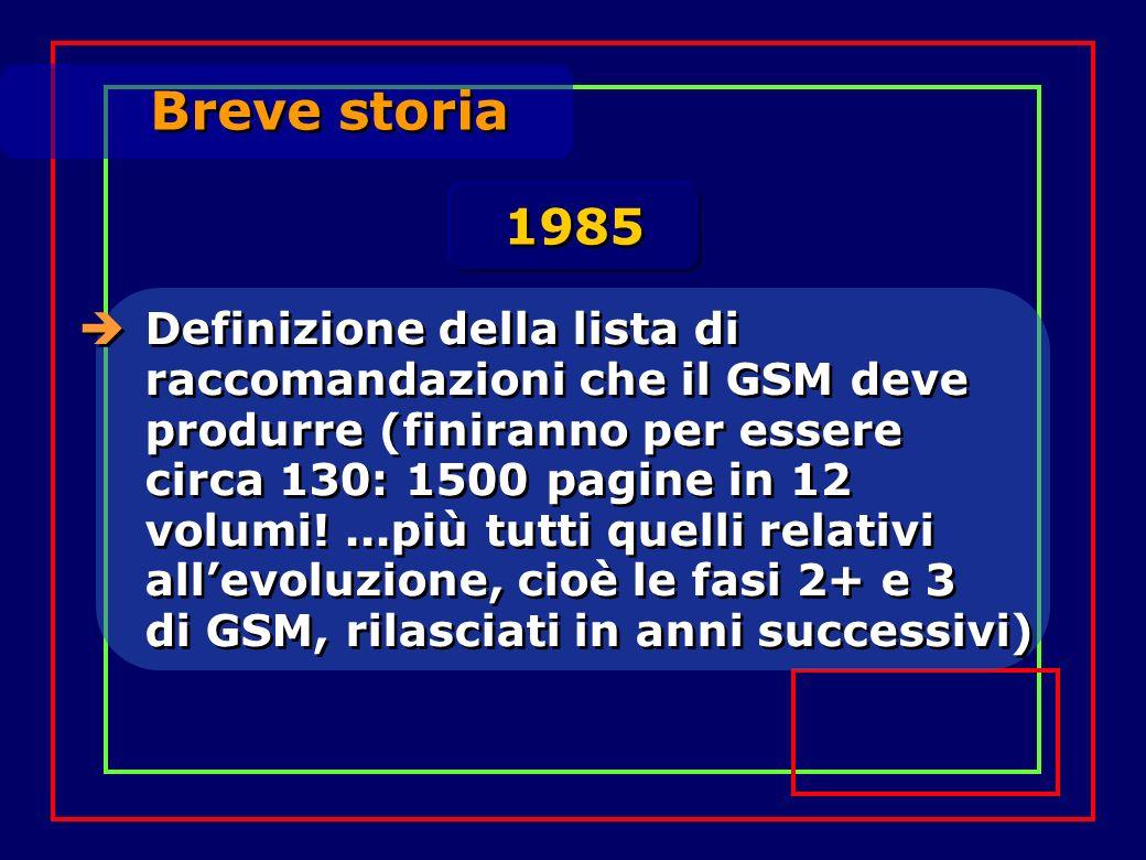 Breve storia 1985.