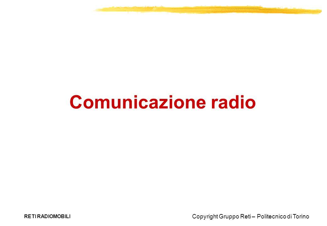 Comunicazione radio RETI RADIOMOBILI
