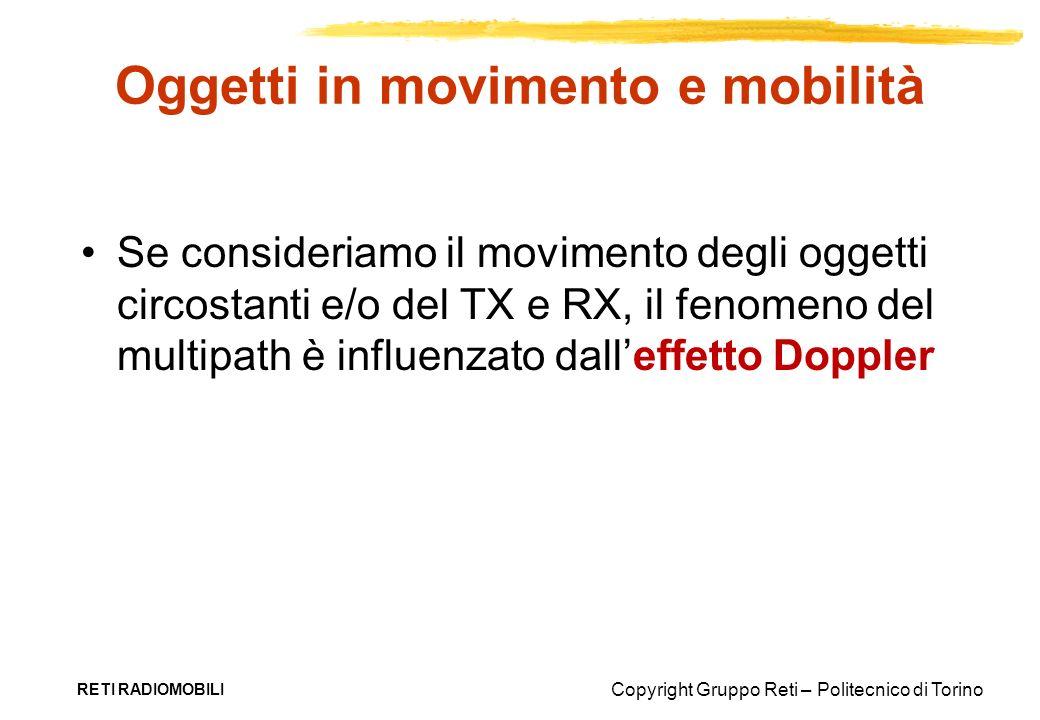 Oggetti in movimento e mobilità