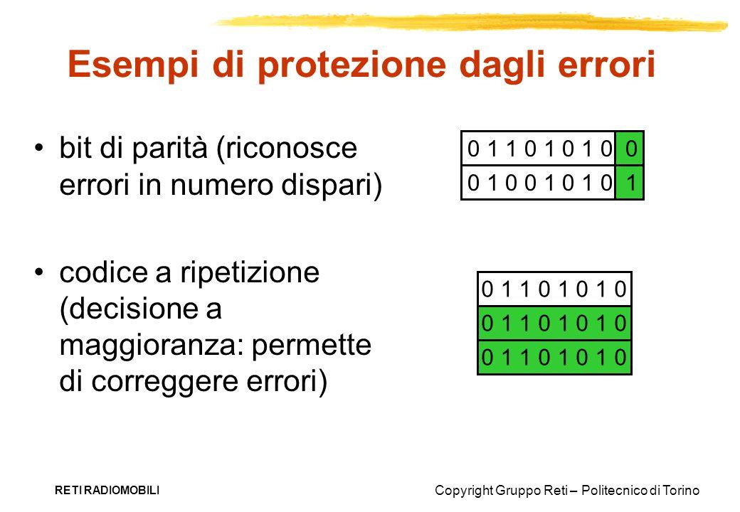 Esempi di protezione dagli errori