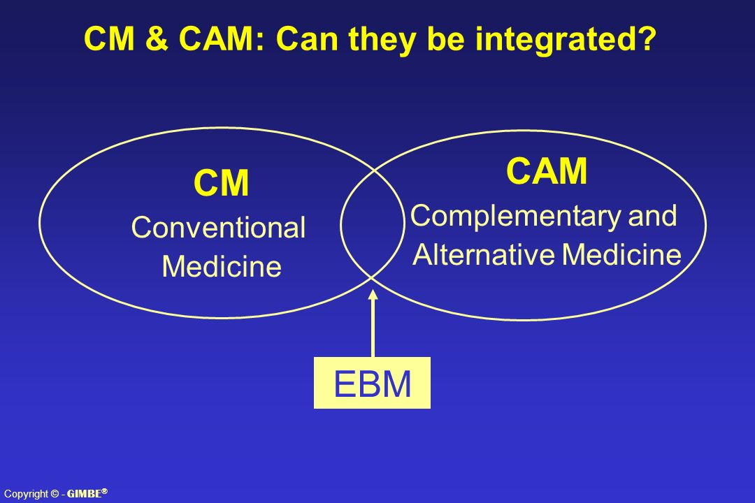 CM & CAM: Can they be integrated