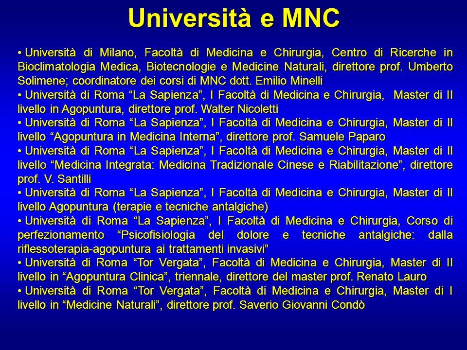 Università e MNC