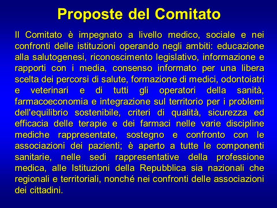 Proposte del Comitato