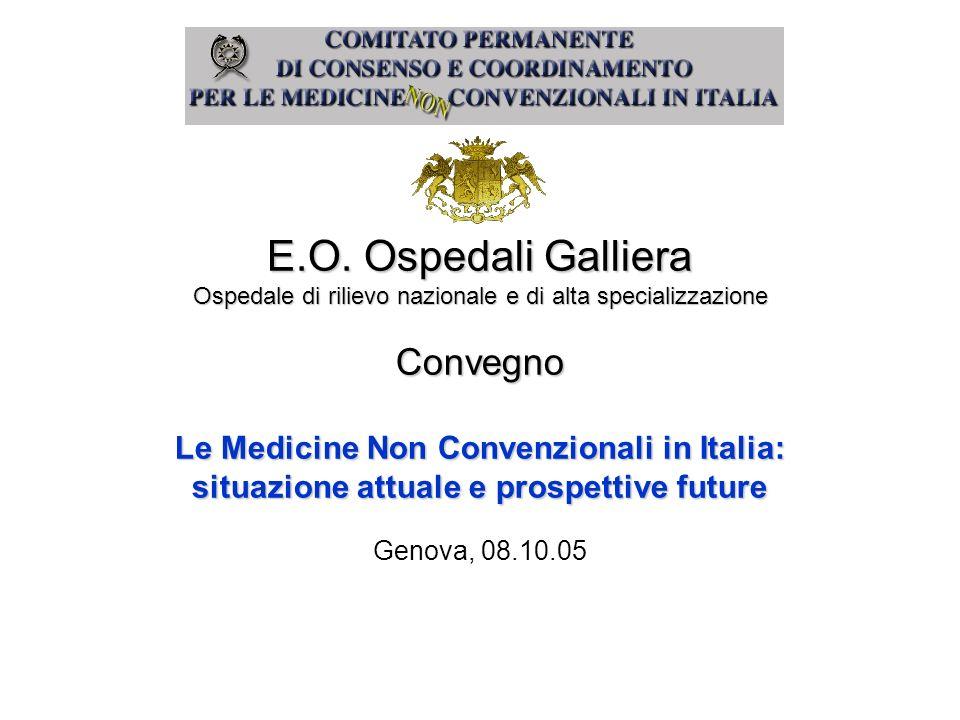 Le Medicine Non Convenzionali in Italia: