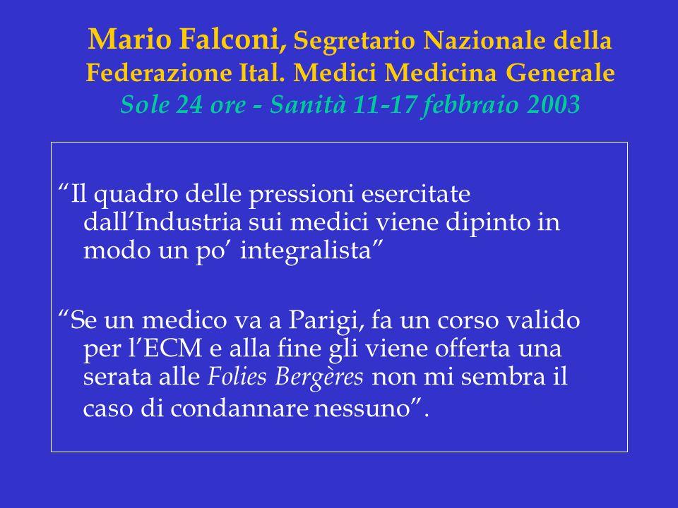 Mario Falconi, Segretario Nazionale della Federazione Ital
