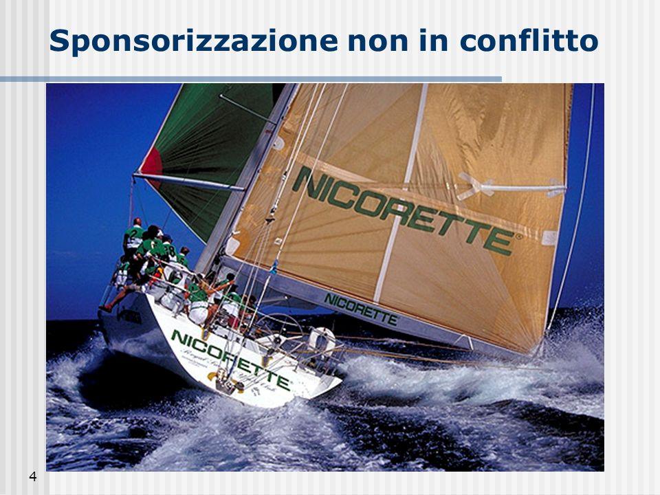 Sponsorizzazione non in conflitto