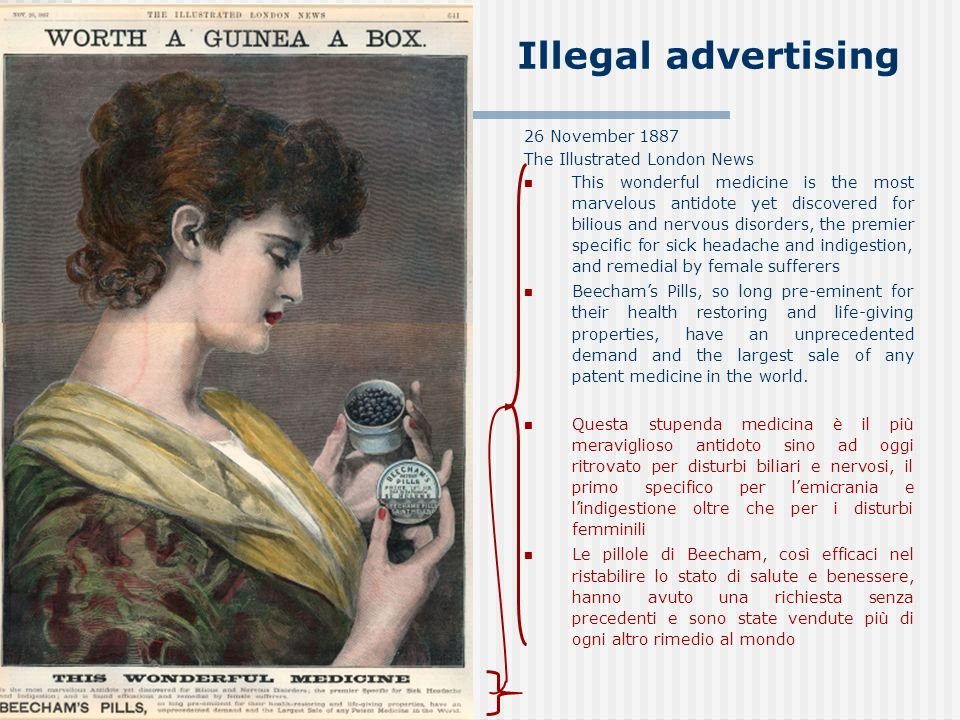 Illegal advertising 26 November 1887 The Illustrated London News