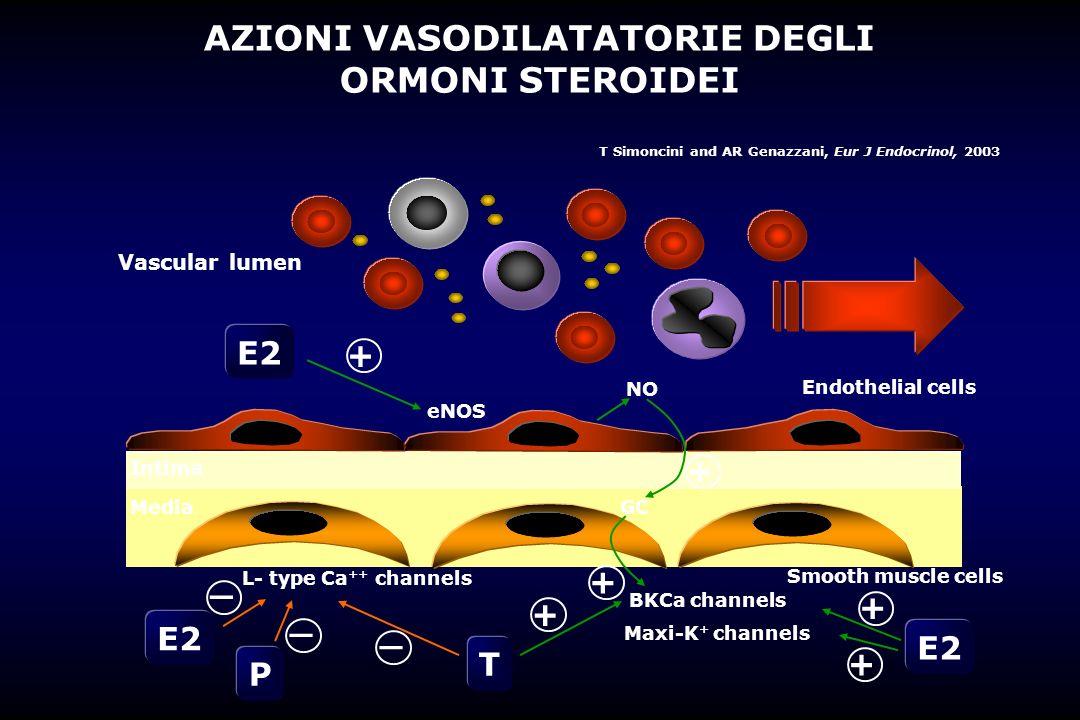 AZIONI VASODILATATORIE DEGLI ORMONI STEROIDEI