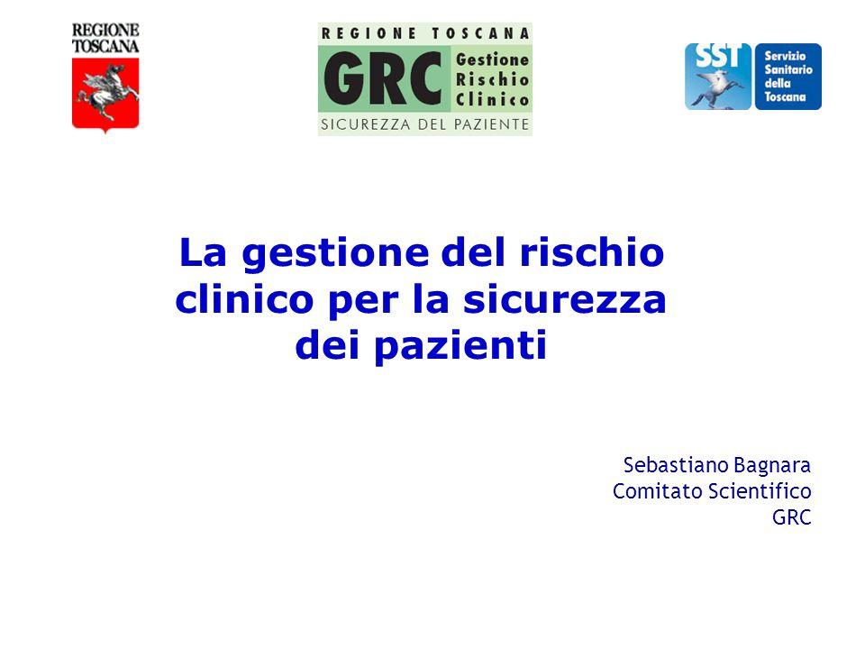 La gestione del rischio clinico per la sicurezza dei pazienti