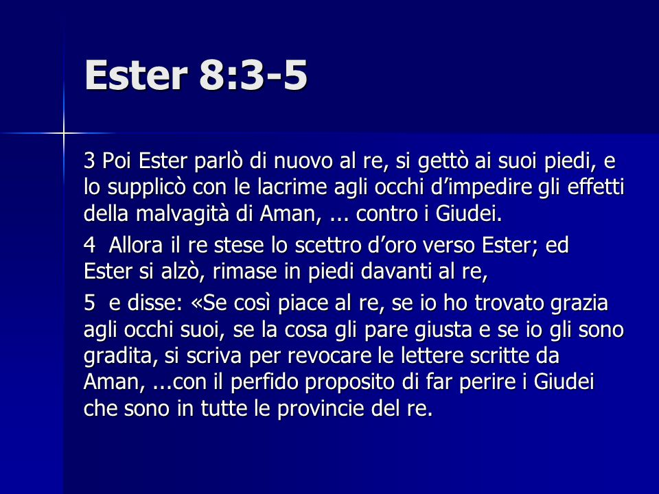 Ester 8:3-5