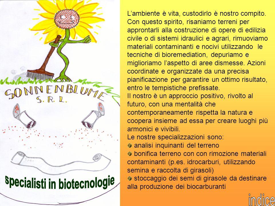 specialisti in biotecnologie