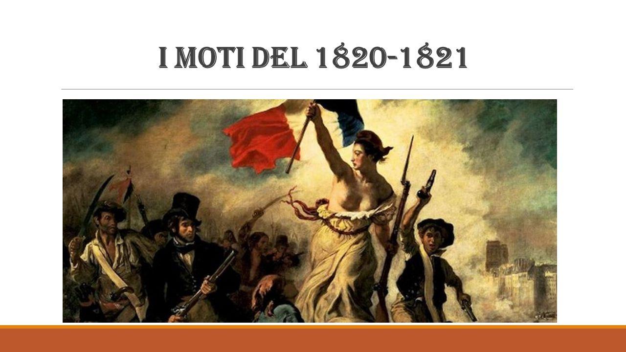 I moti del 1820-1821