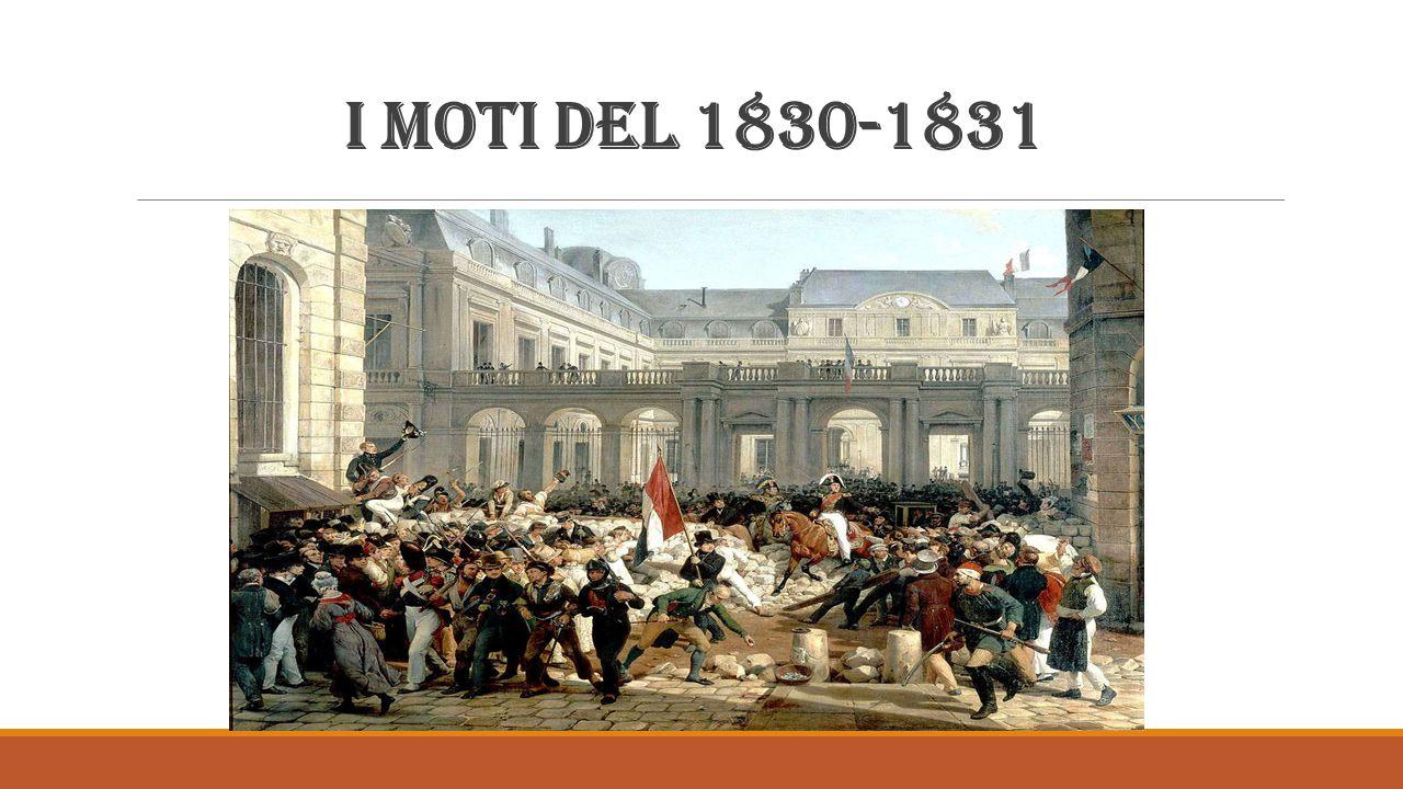 I moti del 1830-1831