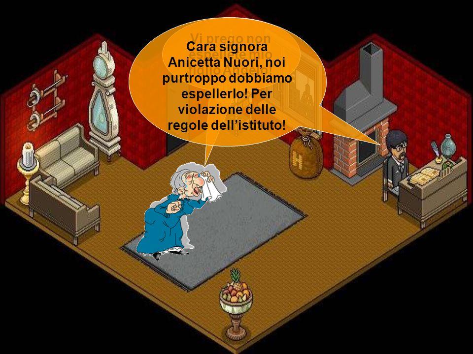 Vi prego non espellete mio figlio Angelo!