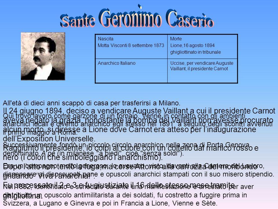 Sante Geronimo Caserio