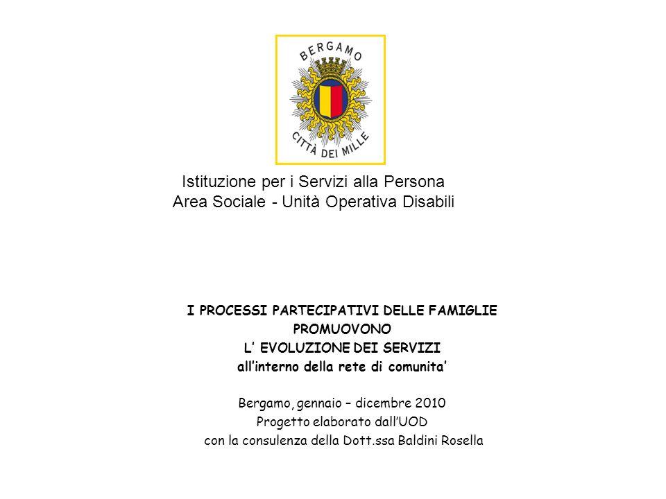 Istituzione per i Servizi alla Persona Area Sociale - Unità Operativa Disabili