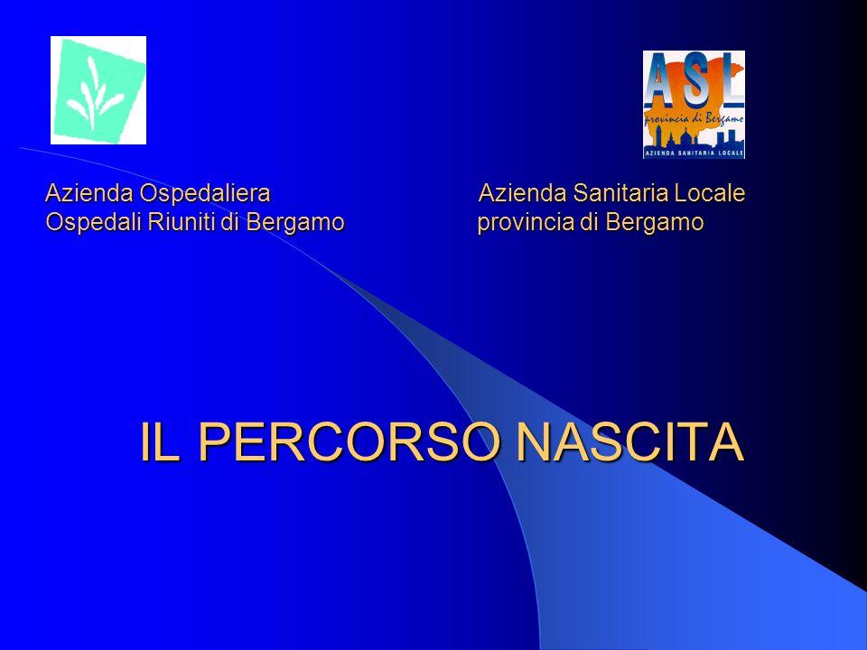 Azienda Ospedaliera Azienda Sanitaria Locale Ospedali Riuniti di Bergamo provincia di Bergamo IL PERCORSO NASCITA