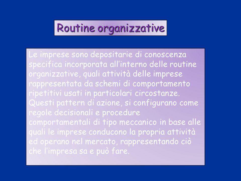 Routine organizzative
