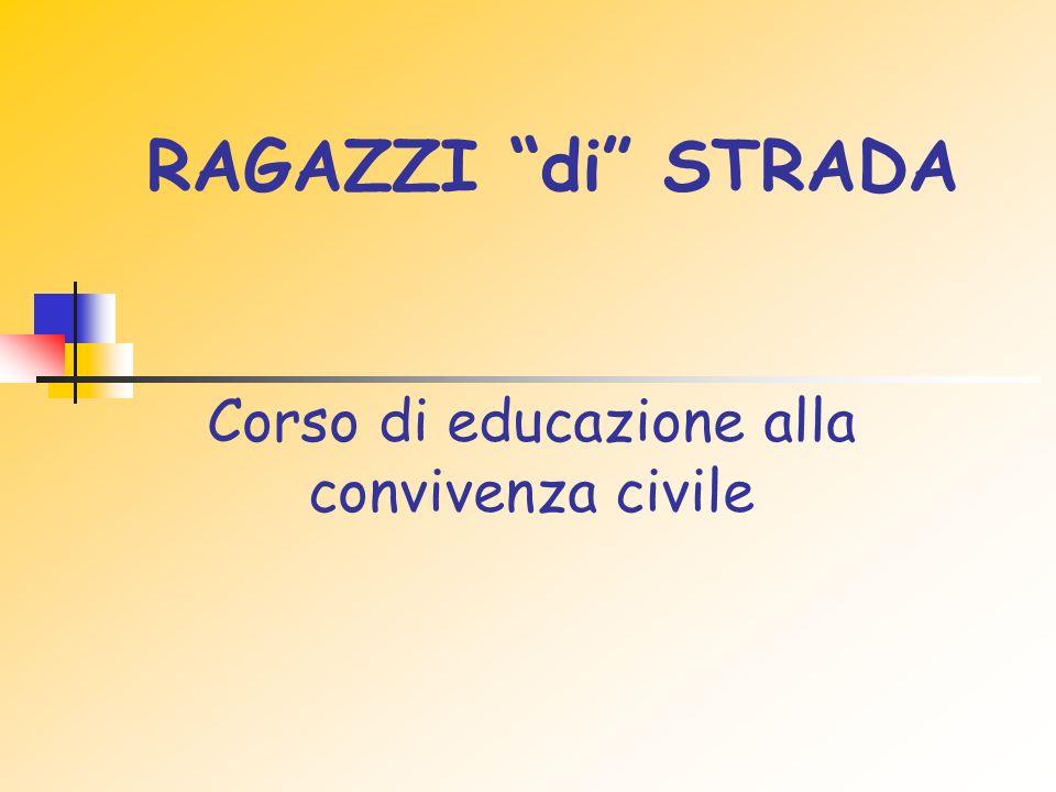 Corso di educazione alla convivenza civile