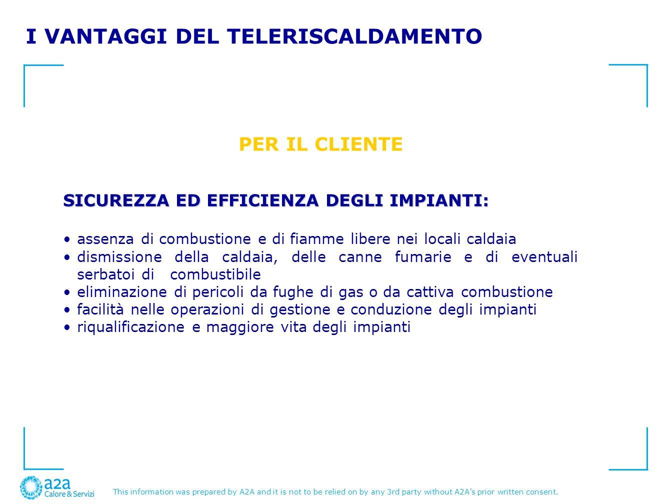 I VANTAGGI DEL TELERISCALDAMENTO