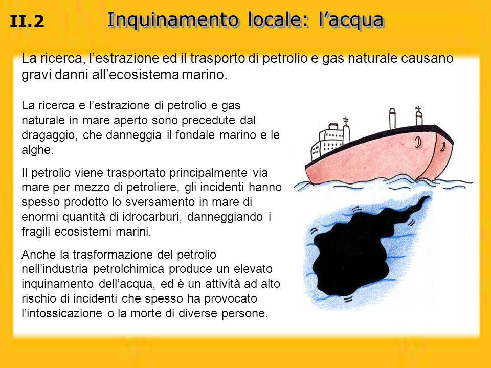 Inquinamento locale: l'acqua