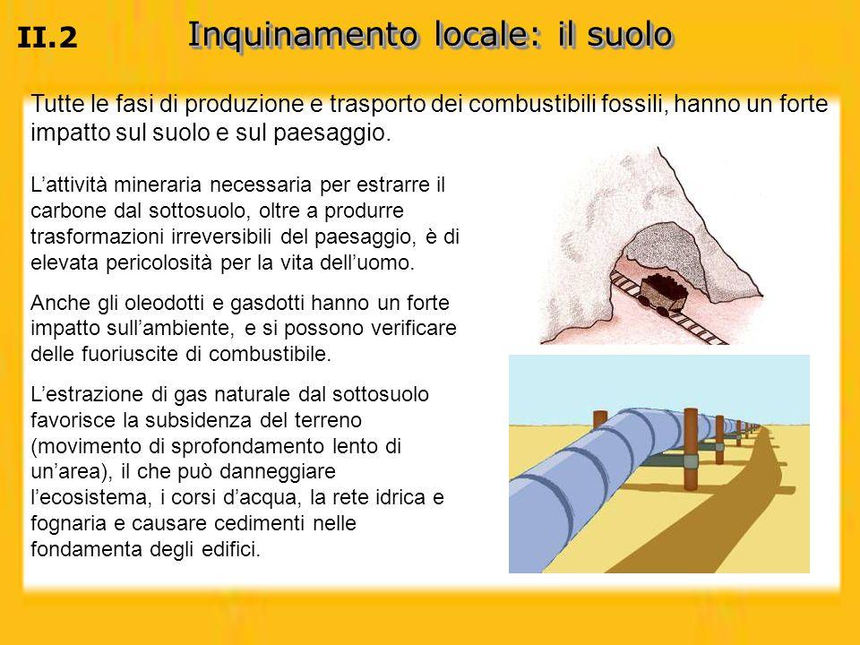 Inquinamento locale: il suolo