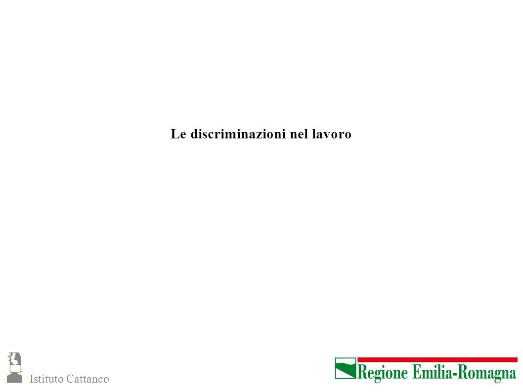 Le discriminazioni nel lavoro