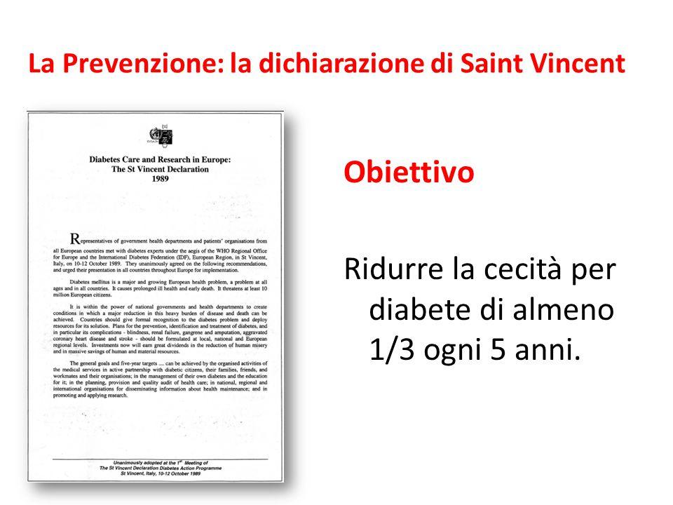 La Prevenzione: la dichiarazione di Saint Vincent