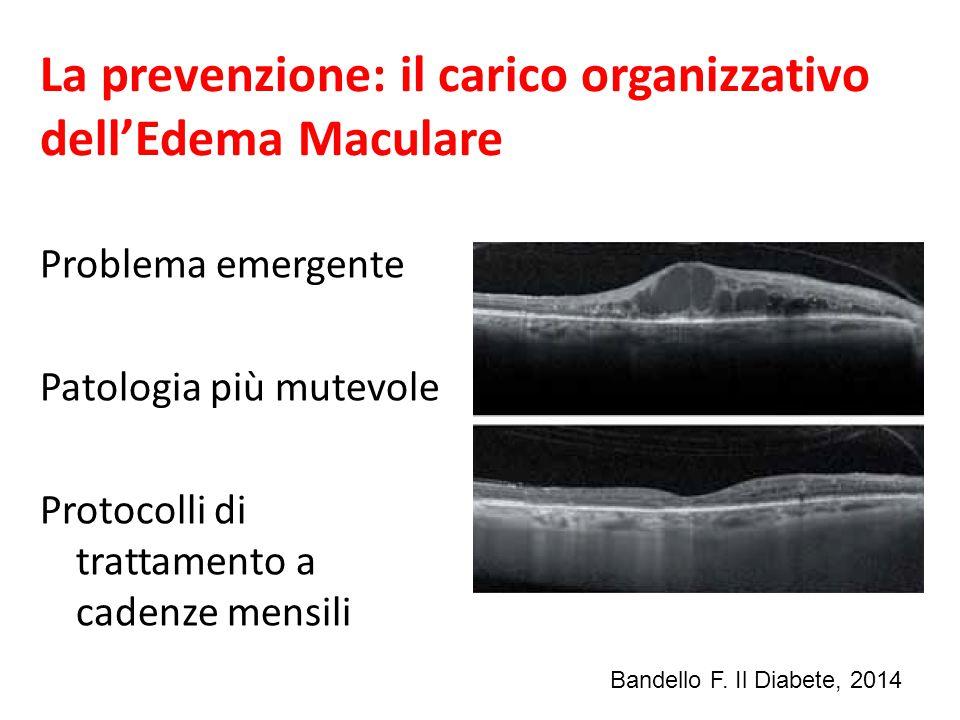 La prevenzione: il carico organizzativo dell'Edema Maculare