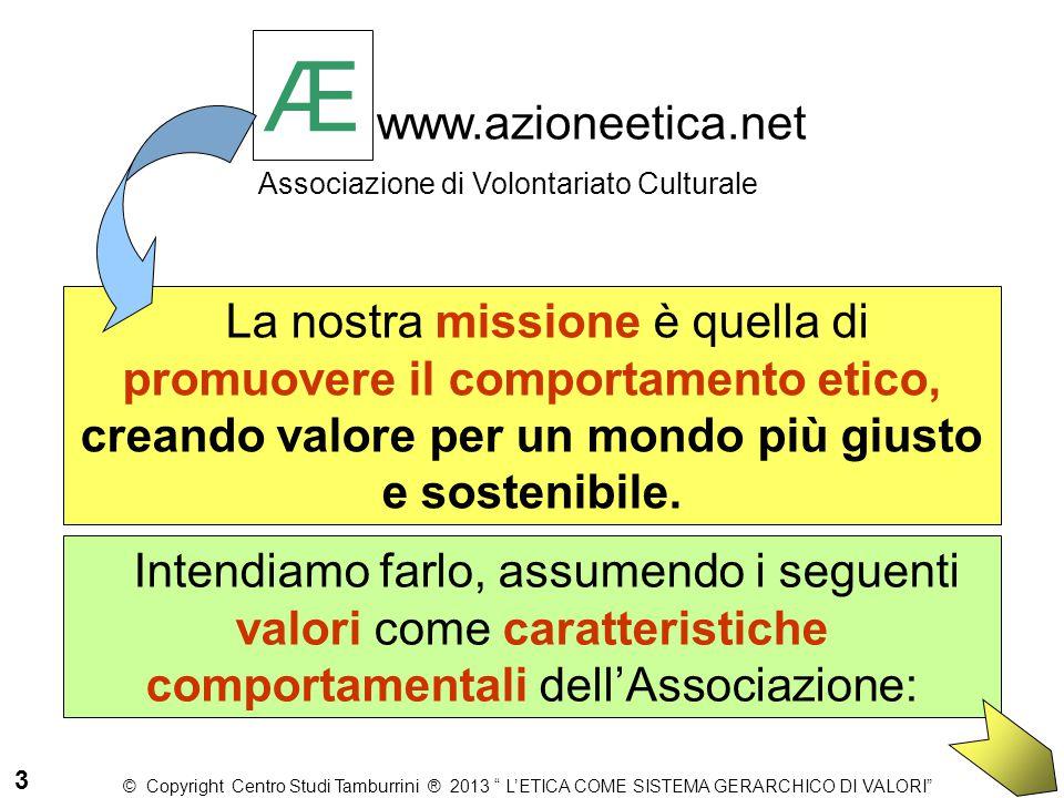 Æwww.azioneetica.net Associazione di Volontariato Culturale. Æ.