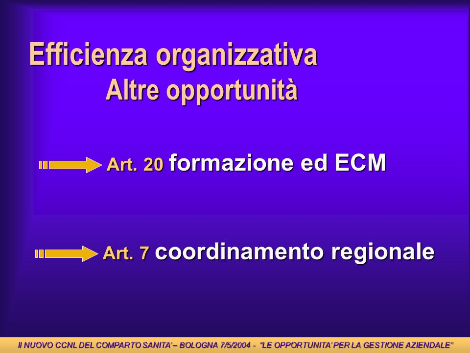 Efficienza organizzativa
