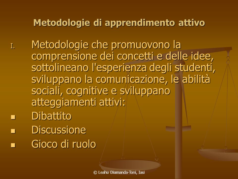 Metodologie di apprendimento attivo