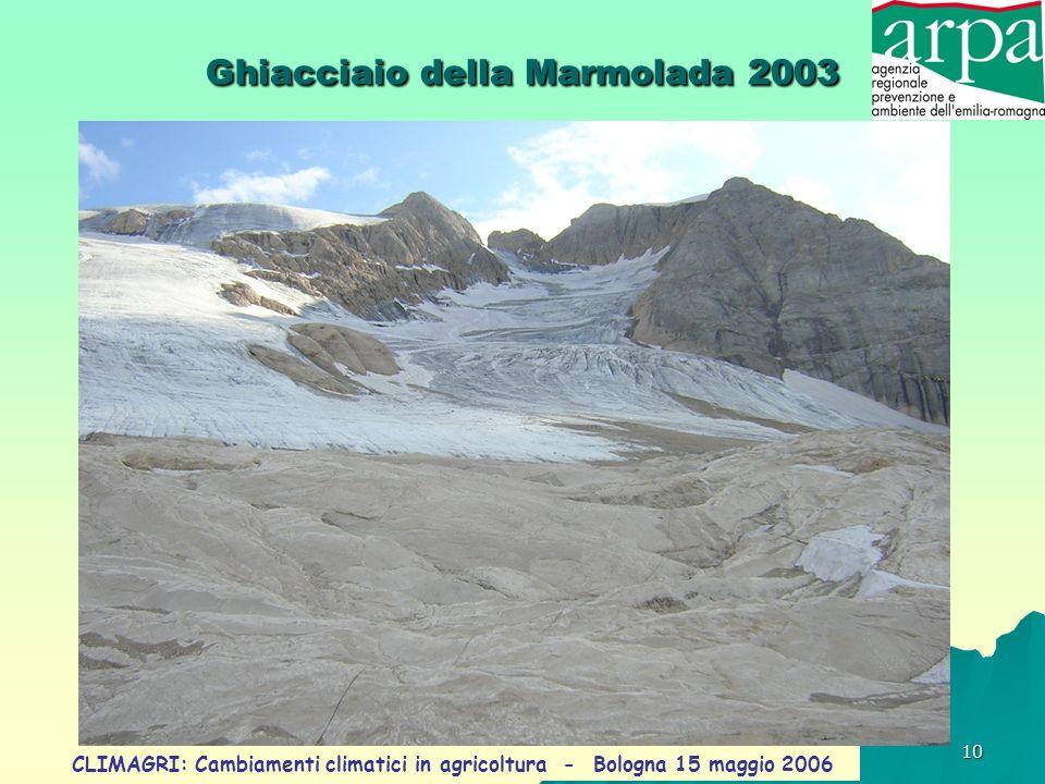 Ghiacciaio della Marmolada 2003