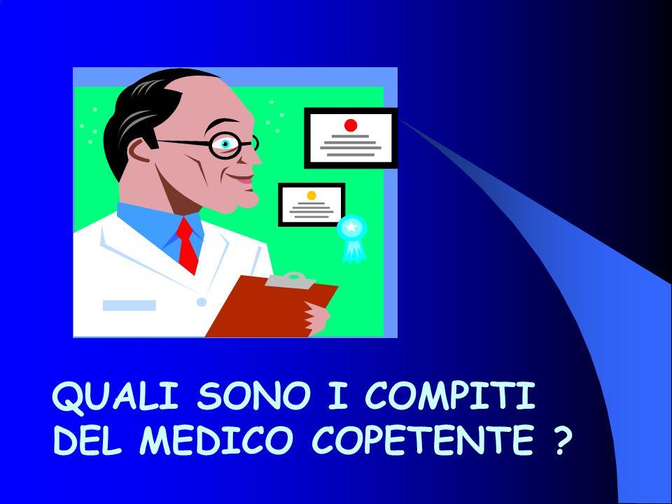 QUALI SONO I COMPITI DEL MEDICO COPETENTE