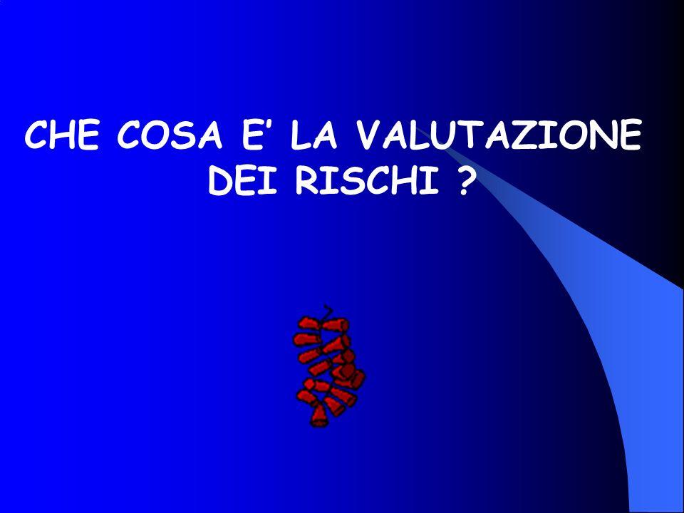 CHE COSA E' LA VALUTAZIONE