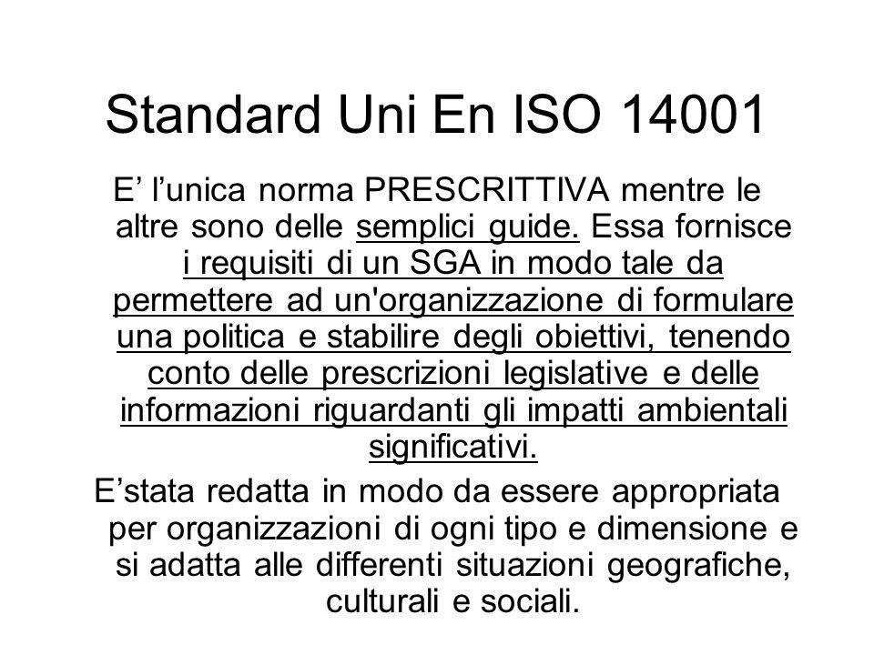Standard Uni En ISO 14001