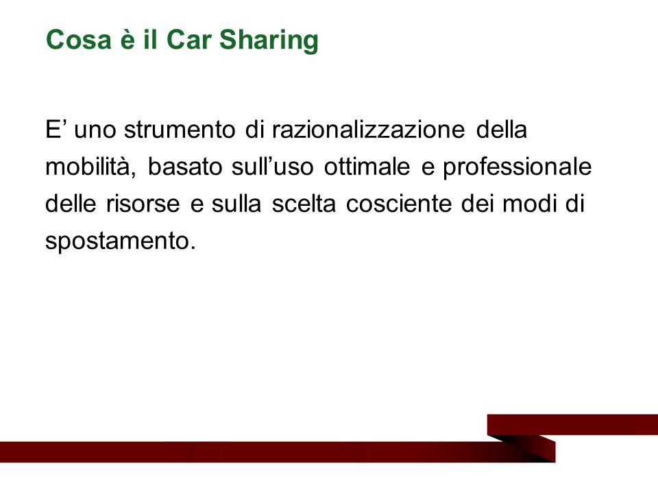 Cosa è il Car Sharing