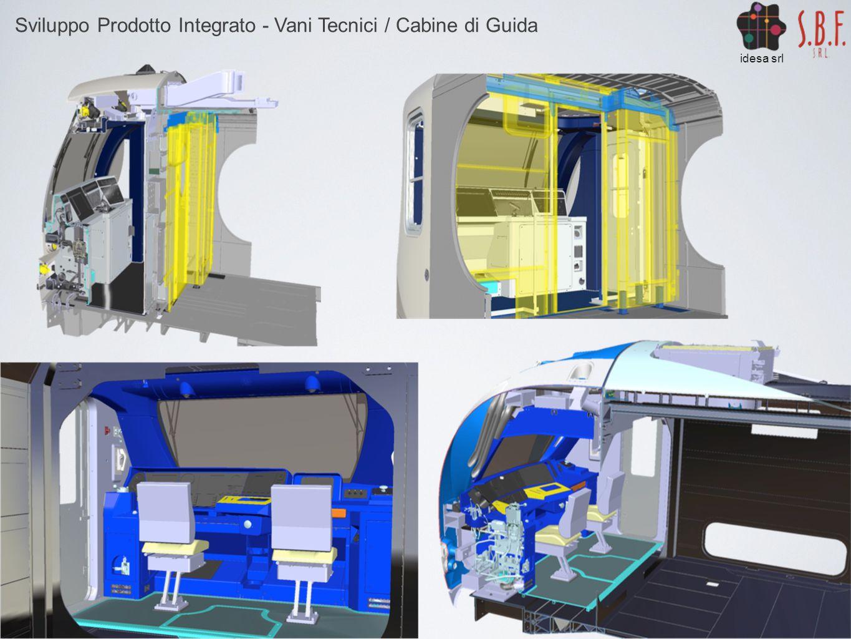 Sviluppo Prodotto Integrato - Vani Tecnici / Cabine di Guida