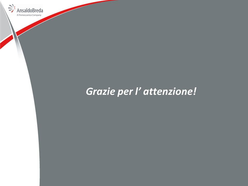 Grazie per l' attenzione!