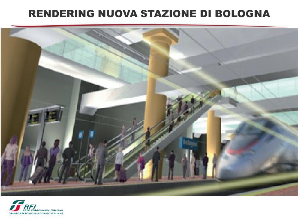 RENDERING NUOVA STAZIONE DI BOLOGNA
