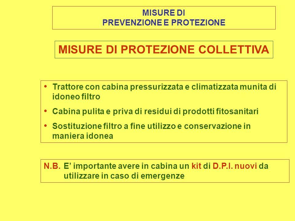 PREVENZIONE E PROTEZIONE MISURE DI PROTEZIONE COLLETTIVA