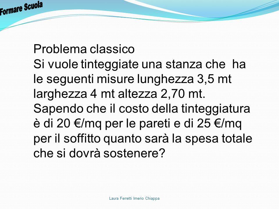 Formare Scuola Problema classico