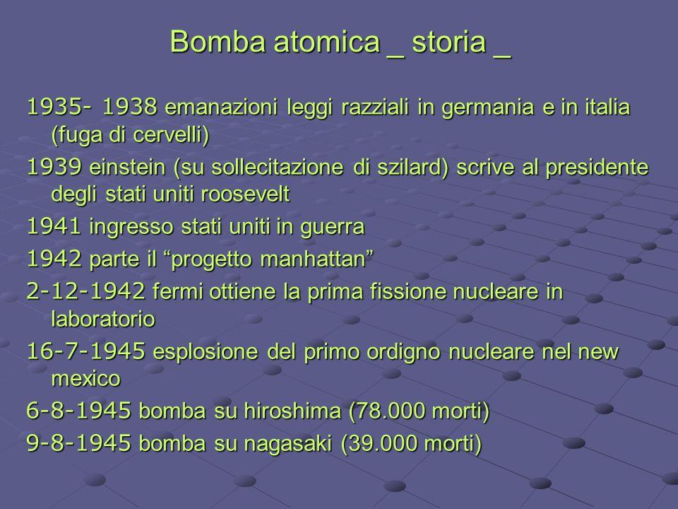 Bomba atomica _ storia _
