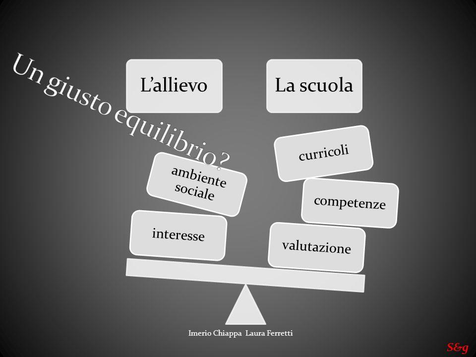 Un giusto equilibrio S&g Imerio Chiappa Laura Ferretti L'allievo