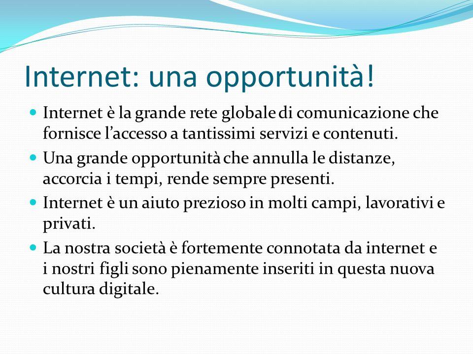 Internet: una opportunità!