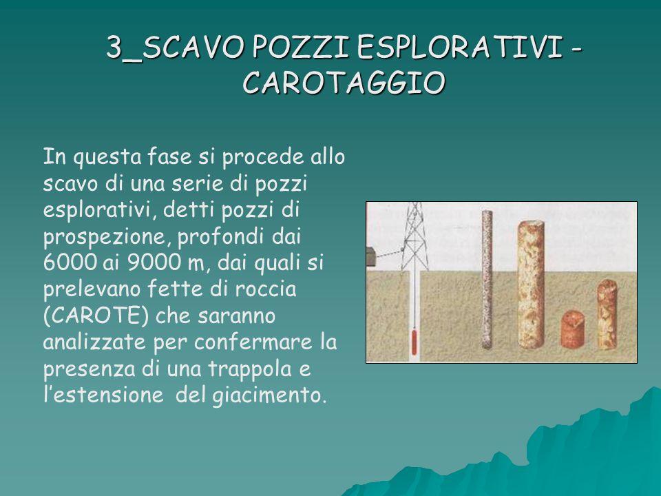 3_SCAVO POZZI ESPLORATIVI - CAROTAGGIO