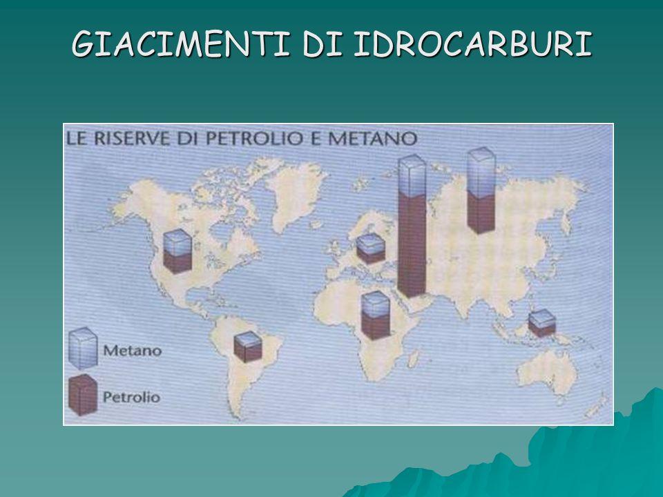 GIACIMENTI DI IDROCARBURI